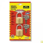 Cadenas bagages 20mm Lot de 2 même clé
