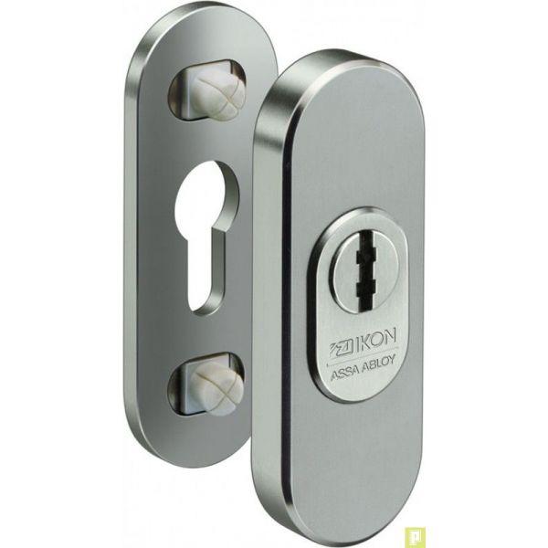 Rosace de s curit menuiserie bois pour protection de cylindre de porte pluriel - Cylindre de porte ...