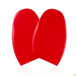 plus récent 9a2da 79b03 Christian Louboutin Semelles de protection rouges brillantes