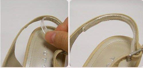 e3cee51f4e Les lanières en gel invisible sont l'accessoire indispensable pour vos  chaussures à brides. Empêchent le glissement et le frottement des brides.